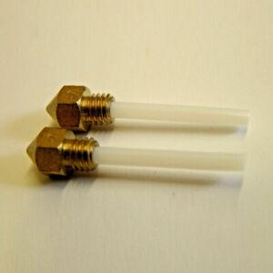 2pcs MK7/8 Extrudeuse Buse 0.4mm Ctc Buse Ptfe dans La Buse for 3D Printer