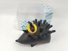 Spike Jewelry Keeper Ring Holder Hedgehog Novelty Gift For Wedding Rings Black