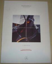 Mercedes Daimler Benz 1997 F chorro de vida de 300 Kit de medios de prensa muy raro pressemappe -
