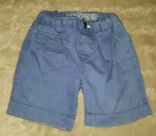 BABY BOYS 00 (6-12 months) blue TARGET shorts CUTE! ADJUSTABLE WAIST! COOL