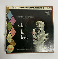 Frank Sinatra - Only The Lonely 4 Track Reel to Reel 7 1/2 ips Tape Capital
