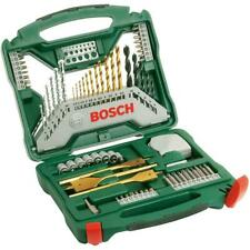 Bosch X-Line Titanium-Bohrer und Schrauber Set, 70-teilig Bohrer Fräsbohrer Bits