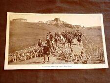 Roma nel 1928 La Caccia alla volpe al Divino Amore Partecipanti a cavallo e cani