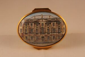 Halcyon Days National Trust for Scotland Limited Edition Enamel Box