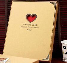 Hágalo usted mismo álbum de fotos familiar memoria Badajo Board Autoadhesivo De Crecimiento De Bebé Álbum