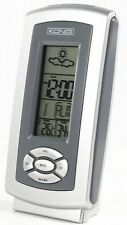 NEW WEATHER STATION WITH CLOCK, ALARM, TEMP, HYGROMETER