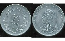 TURQUIE  50 kurus 1972  ( bis )