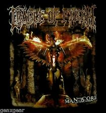 CRADLE OF FILTH cd cv MANTICORE AND OTHER HORRORS Official SHIRT LAST XL New oop