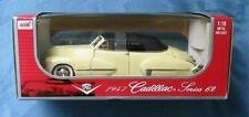 YELLOW 1947 CADILLAC SERIES 62 1:18 DIE CAST CAR ANSON FACTORY SEALED