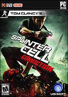 Tom Clancy's Splinter Cell: Conviction (PC, 2010) NEW