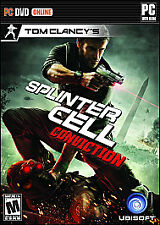 BRAND NEW Sealed Tom Clancy's Splinter Cell: Conviction (PC, 2010)