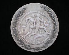 Ancient Greek Olympic Games Spartathlon Athlete Sculpture Relief wreath