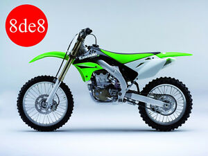Kawasaki KX 450 F (2008) - Workshop Manual on CD (In Spanish)