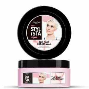 Loreal Stylista The Pixie Cream Styling Wax Short Hair BRAND NEW FREE DELIVERY