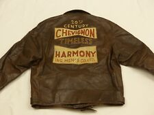 *CHARLES CHEVIGNON BIKER LEDERJACKE*TIMLESS HARMONY*HOT SKIES*GR XL*TIP TOP