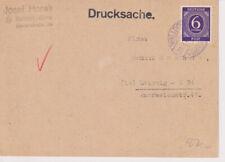 Gemeinsch.Ausg. Mi. 916 EF, Walldorf/Werra, blauer Stpl., 22.3.47, P 2 + 14,00