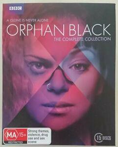 Complete series Orphan Black Bluray Boxset