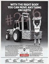 SAMBRON Handler gamme annonce - 1984 Publicité
