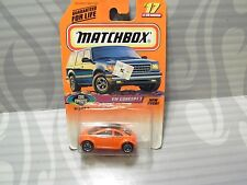 1997 MATCHBOX   #17 = VOLKSWAGEN CONCEPT 1  = ORANGE