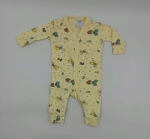 PRECIOUS MOMENTS Newborn Baby one Pcs Outfit Babys Up to 12Lbs Yellow Girl Boy