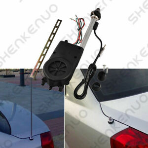 Power Antenna AM/FM Radio OEM Replacement Assembly Kit Automotive Car Aerial 12V