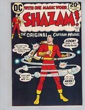 Shazam! #5  The Original Captain Marvel vs a Leprechaun from 1973  VF!