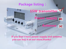 1.5W/15W stereo PLL FMtransmitter broadcast 87-108MHz only host