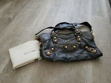 Balenciaga Giant City Tote Bag Dark Green (Pre-loved)