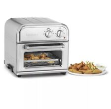 Cusinart Air Fryer Toaster Oven Countertop Stainless Steel Basket, Baking Silver