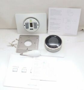 Nest 01A 1st Generation Learning Programmable Thermostat Silver