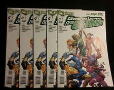 Green Lantern New Guardians lot 5 #1x5 New 52