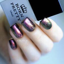 10ml Born Pretty Chameleon UV Gel Lack Nagellack Chrome (Schwarz Base brauchen)