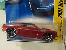 Hot Wheels '69 Ford Mustang 2007 New Models Red