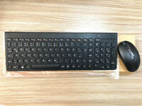 Lenovo mouse and keyboard set keyboard mouse sk8861 ultra-thin mute Wireless