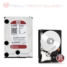 HARD DISK INTERNO 3,5 Western Digital Red 2TB Sata3 6Gb/s 64MB PER NAS WD20EFRX