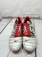 Nike Total 90 III Classic Cherry Red & Grey Football Boots  Size UK7