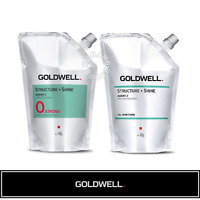 0 STRONG GOLDWELL STRUCTURE+SHINE AGENT 1/2 Softening Neutralizing Cream