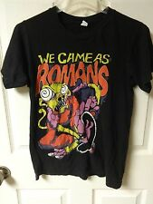 Vintage We Came As Romans Band Shirt Cotton T-Shirt Men's Small by Tultex