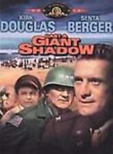 Cast A Giant Shadow Widescreen DVD VIDEO MOVIE Kirk Douglas Israel's army state