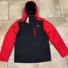 🔥 BRAND NEW 🔥 THE NORTH FACE MEN'S CARTO TRICLIMATE RED/BLACK JACKET SIZE M