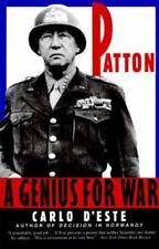 Patton: Genius for War, A  D'Este, Carlo  Good  Book  0 Paperback