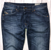 Mens DIESEL Troxer Jeans W28 L28 Blue Slim Skinny Wash R79K6 STRETCH