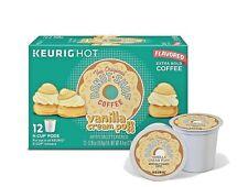 The Original Donut Shop Vanilla Cream Puff Coffee K Cup Cups Keurig Hot 12 Pods