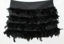 Polyester Dry-clean Only Solid Mini Skirts for Women