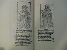 Francois Villon The Le Grand Testament Et Le Petit Fine Repro Of 1489 Edition