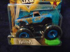 Kahuna  2018  Hot Wheels Monster Jam Truck  w/ Re-crushable Car