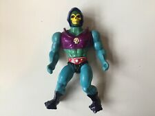 HE-MAN 1985 SKELETOR Terror-Claws hard HEAD figure Malaysia MOTU mattel