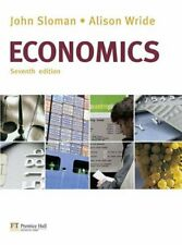 Economics with MyEconLab-Mr John Sloman, Prof Alison Wride