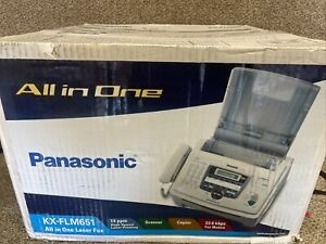 PANASONIC KX-FLM651 MULTI FUNCTION LASER FAX SCAN COPY PHONE PC FAX PRINT New