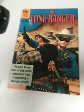 The Lone Ranger #137 dell 1961 clayton moore photo cover western movie comics
